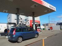 2019.09.01 最北端の給油所 - ジムニーとピカソ(カプチーノ、A4とスカルペル)で旅に出よう