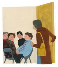 挿し絵の仕事新聞連載「未踏の老いを生きる07」 - yuki kitazumi  blog