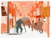 挿し絵の仕事 新聞連載 「未踏の老いを生きる 10」 - yuki kitazumi  blog