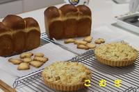 10月のレッスン始まりました - パン・お菓子教室 「こ む ぎ」