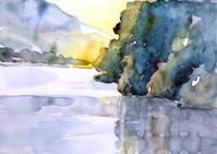 女神湖-初秋 - ryuuの手習い