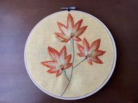 紅葉🍁 - Yumiko Sakura Embroidery