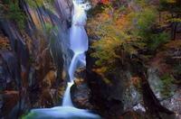 秋の仙娥滝 - As it is