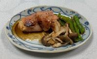 """昨夜、雷が鳴り、強い雨が降りました。今日も冷蔵庫に入っている """"冷凍魚"""" の整理です。 - おひとりさまの「夕ごはん」"""
