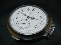 アンティーク大型懐中時計クオーターリピータークロノ - アンティーク(骨董) テンナイン