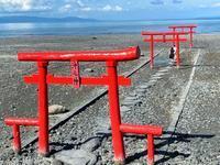 佐賀県太良町の大魚神社の海中鳥居と干潟 - スクール809 熊本県荒尾市の個別指導の学習塾です