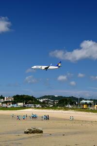 3つの青 - 南の島の飛行機日記