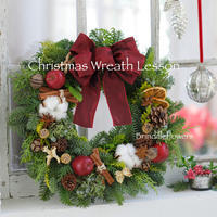 クリスマスリース&スワッグレッスン2019*今年も開催します♪ - Brindille Diary フラワースクール ブランディーユのBlog