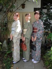 母娘さん、笑顔も素敵、お着物姿も素敵です。 - 京都嵐山 着物レンタル「遊月」・・・徒然日記