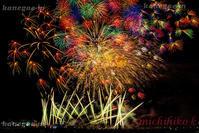 第41回世田谷区たまがわ花火大会東京 - 風景写真家 鐘ヶ江道彦のフォトブログ