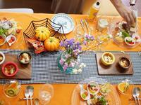 ハローウィンテイストの食卓で('ω') - ほっこりしましょ。。