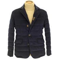 MOORER ムーレー ZAYN VT1 テーラードダウンジャケット ブルーコーデュロイ - 下町の洋服店 krunchの日記