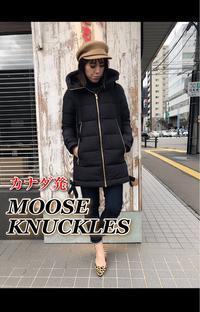 カナダ発アウターブランド「MOOSE KNUCKLES ムースナックルズ」ダウン入荷です。 - UNIQUE SECOND BLOG