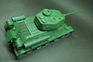 WWII ソ連軍中戦車 T34/85 - Pythagorasnap (ぴたごらスナップ)