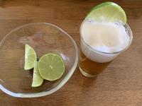 ビールにライム - いととはり