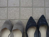 起毛素材の靴と、ホッとできた衣替え - Lien Style (リアン スタイル)