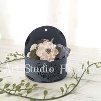 クレイでお花絞り*ちいさなポットフラワー - Sweets Studio Floretta* Flower Cake & Sweets Class@SHIGA