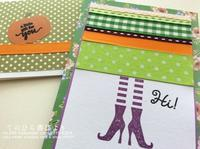 Let's create a weekly card & show off! #37 ハロウィンカード2019#3 - てのひら書びより