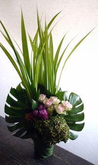 歯科医院の開院にアレンジメント。2019/10/01。 - 札幌 花屋 meLL flowers