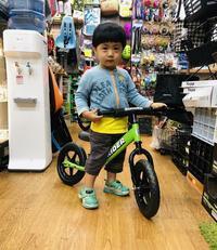 STRIDER:本日のストライダーキッズ / Sport Model・グリーン - カルマックス タジマ -自転車屋さんの スタッフ ブログ