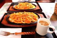 ナポリタン:喫茶ベル(大鰐町) - 津軽ジェンヌのcafe日記