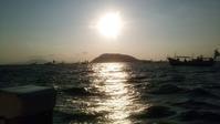 日曜日は遊漁船に乗りタチウオ釣りに行く - ステンドグラスルーチェの日常