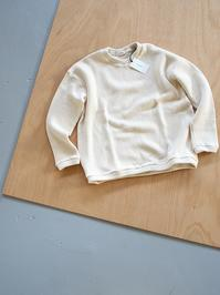 alvanaWOOL RIB KNIT CREW NECK P/O - 『Bumpkins putting on airs』