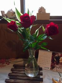 玄関の花 - わたしの好きな物