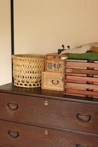 古道具の薬箱は箪笥の上に。。。台風情報はいつもmanaさんのブログへから - キラキラのある日々