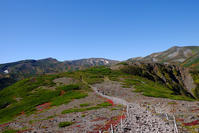 紅葉の大雪山黒岳からお鉢平へ - Motorradな日々 2