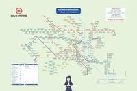 デリーメトロ(地下鉄)の乗り方2019リニューアル ver. - 近代文化遺産見学案内所