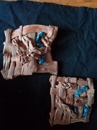 大きめのブローチできました - 藍ちくちく日記