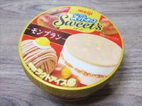 明治エッセル スーパーカップ Sweet's モンブラン@明治 - 池袋うまうま日記。