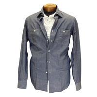 Salvatore Piccolo サルヴァトーレ・ピッコロ シャンブレーマックィーンシャツ モデル・Steve - 下町の洋服店 krunchの日記