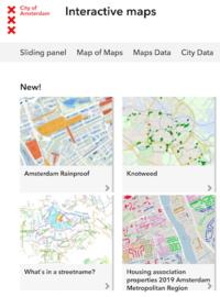 アムステルダムの地図いろいろ - オランダ暮らしブログ