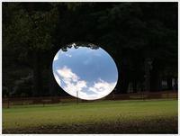 日曜日のお出掛け、別府公園のスカイミラー、空と雲の動きがきれいだったよ~ - さくらおばちゃんの趣味悠遊