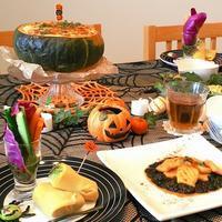 今月は*ハロウィンレッスン* -  川崎市のお料理教室 *おいしい table*        家庭で簡単おもてなし♪