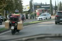 あらまびっくり前行くバイク - イタリア写真草子 Fotoblog da Perugia