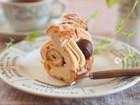 日々のお菓子作り~パリブレストマロン - お菓子教室コンフォタブルより~スイーツのある生活