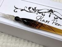 ☆きれい。ありがとう。作家さんのガラスペン☆ - ガジャのねーさんの  空をみあげて☆ Hazle cucu ☆
