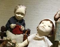 杉本真理子創作人形展ラスト1日♪ - 杉本創作人形&ペペにゃん