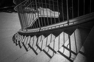 螺旋階段と戯れる光蜥蜴 - Silver Oblivion