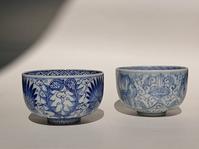 線描き伊万里のりん茶碗2つ - Coron's  style