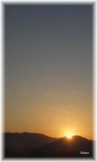 10月10日の夕景 - おだやかに たのしく Que Sera Sera