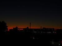 神崎川から夕陽を撮りました。 - 写真で楽しんでます!