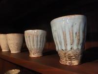 陶房石・水色の器~2 - アオモジノキモチ