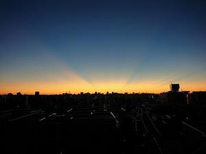 朝日 - ピンボケ写真な日々