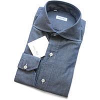 Salvatore Piccolo サルヴァトーレ・ピッコロ ワイドカラー シャンブレーシャツ - 下町の洋服店 krunchの日記