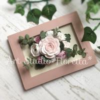 フラワーフォトフレーム - Sweets Studio Floretta* Flower Cake & Sweets Class@SHIGA