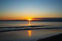 片瀬海岸西浜からの夕景 - エーデルワイスPhoto